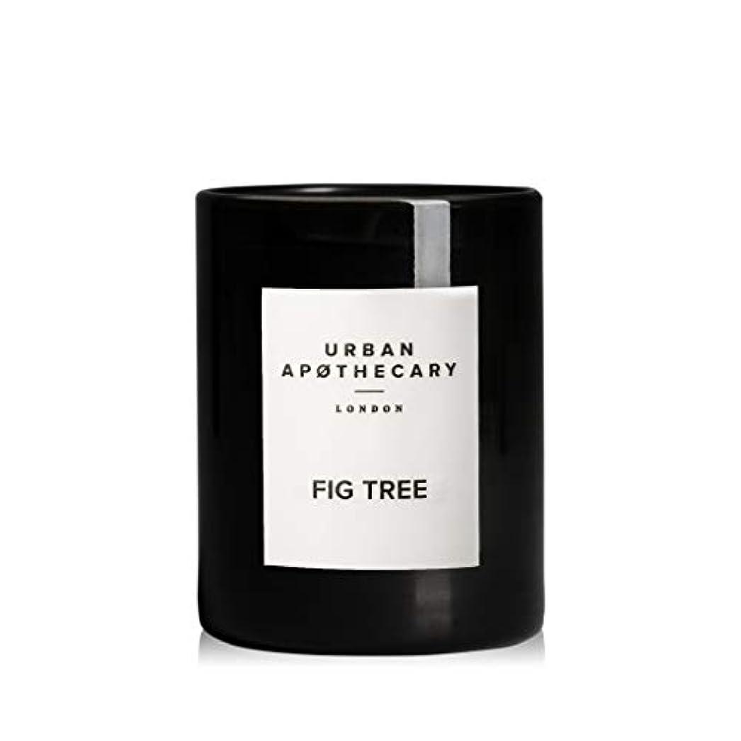 くすぐったい有用コーヒーURBAN APOTHECARY キャンドル(小)FIG TREE 70g