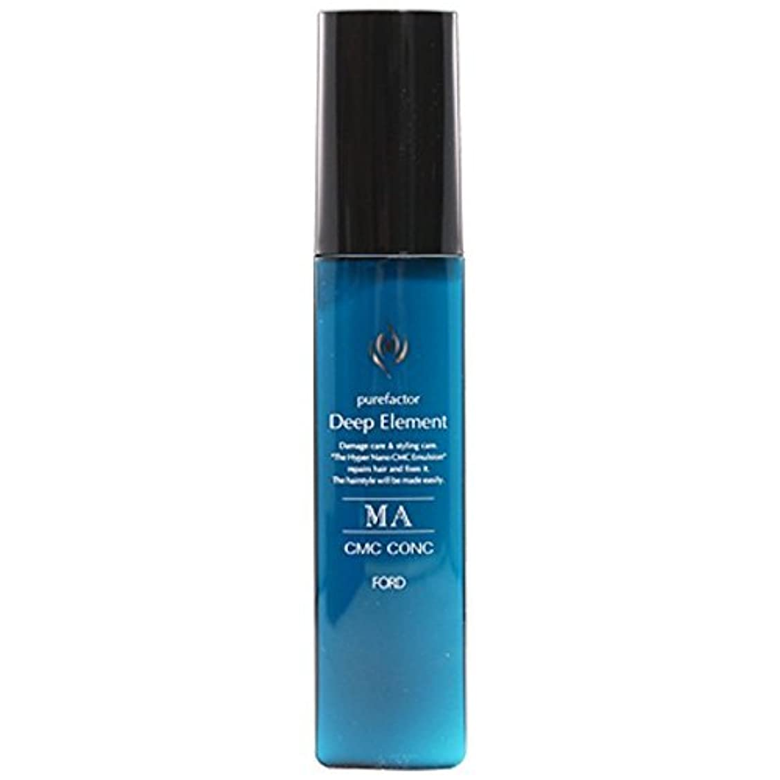 カナダエジプト脆いフォードヘア化粧品 ディープエレメント MA CMCコンク 90g