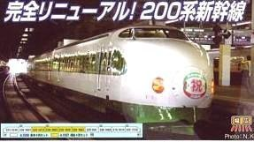 Nゲージ A1596 200系1500番台新幹線リニューアル東北新幹線開業25周年基本6両セット
