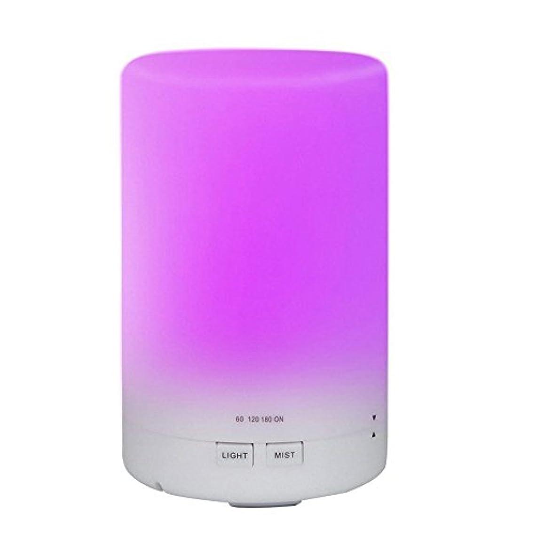 huirui Essential Oil Diffuser 300 mlアロマCool Mist超音波加湿器アロマセラピーDiffusers with 7色の変更LEDライトタイマー設定とWaterless保護(木目)...