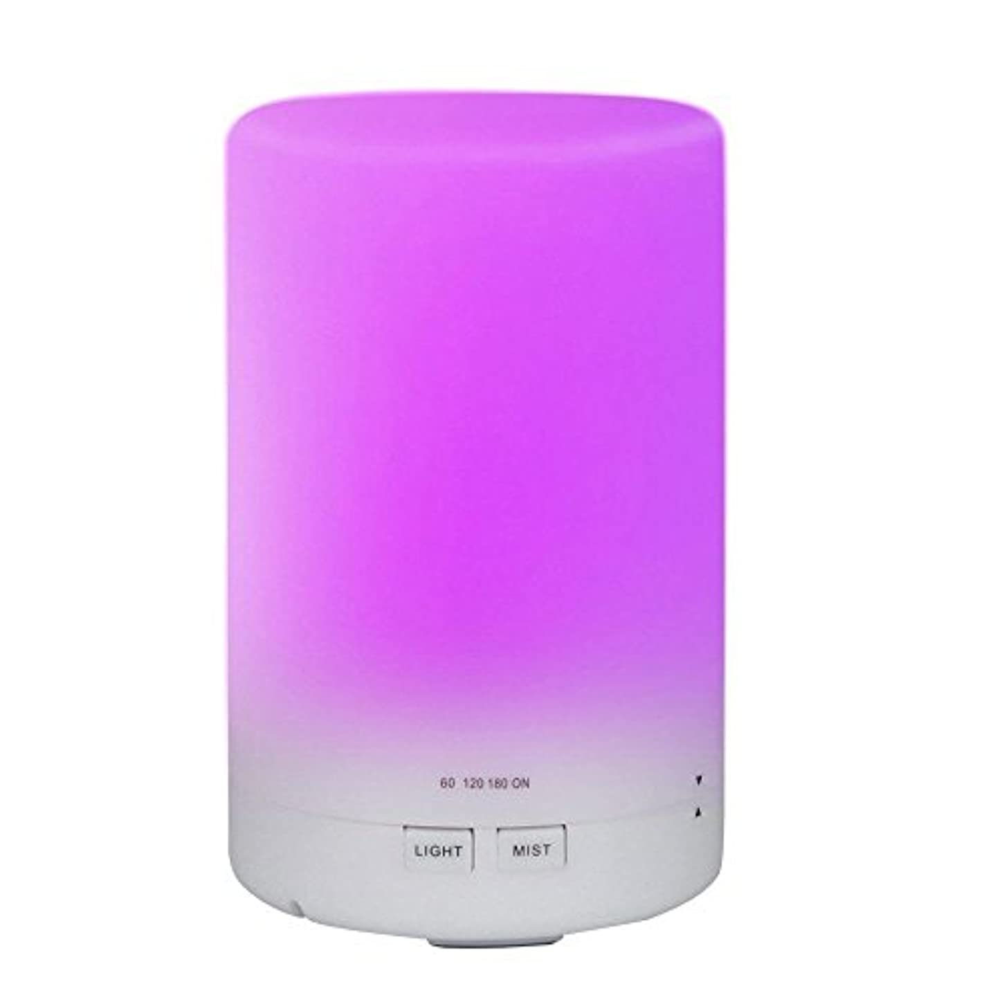 huirui Essential Oil Diffuser 300 mlアロマCool Mist超音波加湿器アロマセラピーDiffusers with 7色の変更LEDライトタイマー設定とWaterless保護(木目)...