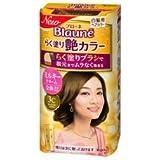 【花王】ブローネ らく塗り艶カラー 3C キャラメルブラウン 100g ×3個セット