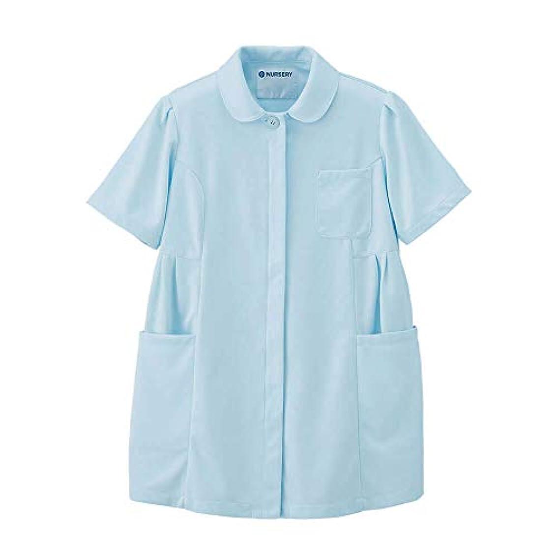 分散うまれたキロメートルナースリー マタニティアクティブジャケット ストレッチ 透け防止 白衣 看護