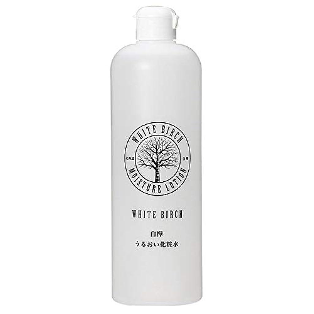 しゃがむ機動オート北海道アンソロポロジー 白樺うるおい化粧水 500mL
