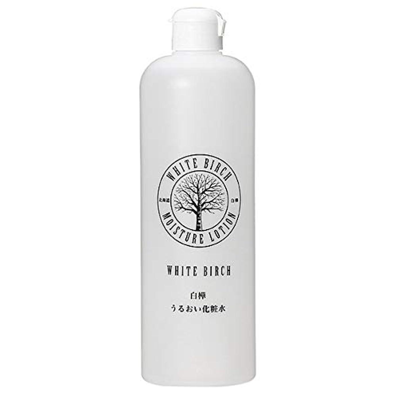 ファランクス大胆な雑品北海道アンソロポロジー 白樺うるおい化粧水 500mL