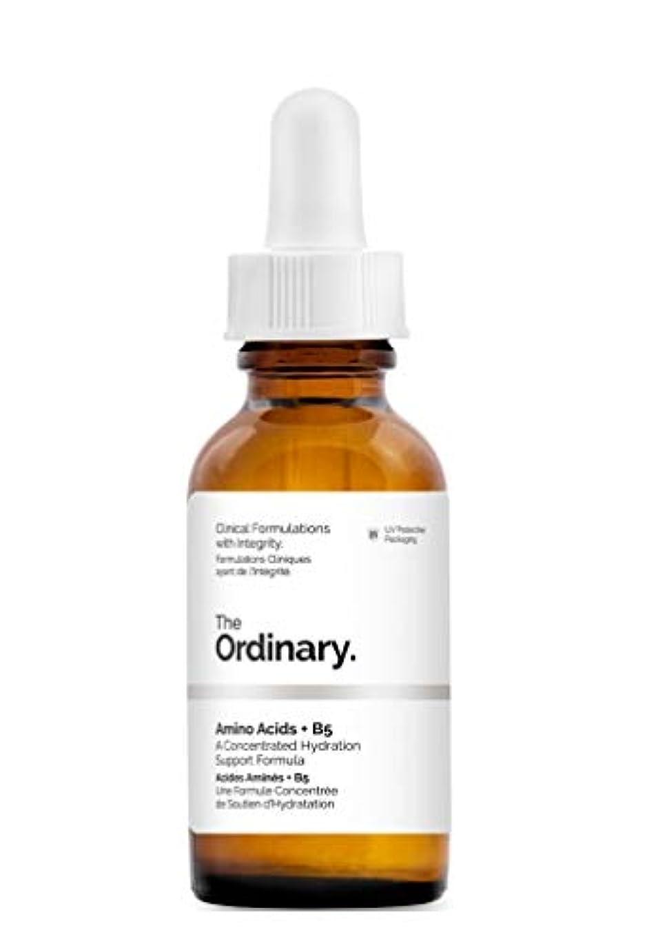 媒染剤代表どうしたのThe Ordinary☆ジ オーディナリーAmino Acids+B5(アミノ酸 + B5)30ml [並行輸入品]