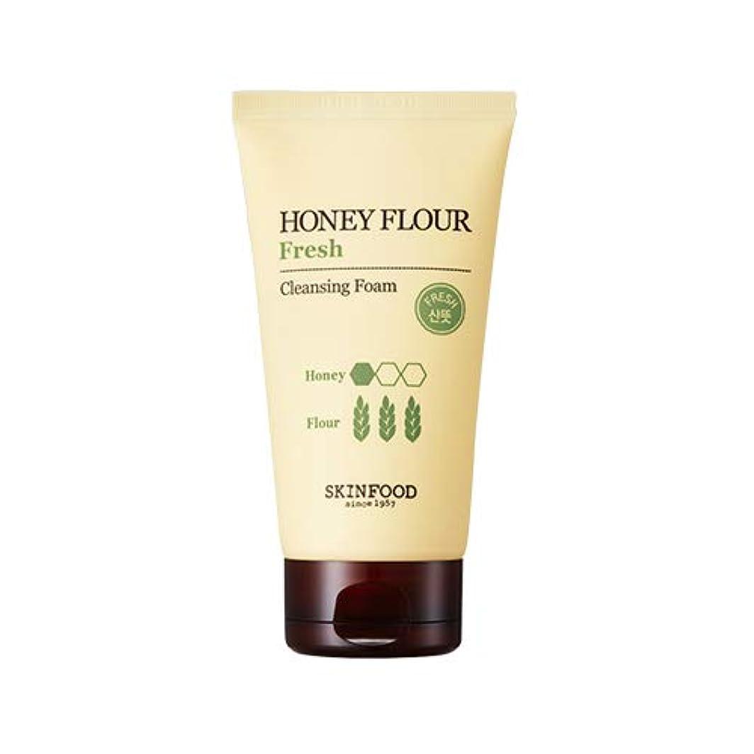 Skinfood/Honey Flour Fresh Cleansing Foam/ハニーフラワーフレッシュクレンジングフォーム/150ml [並行輸入品]