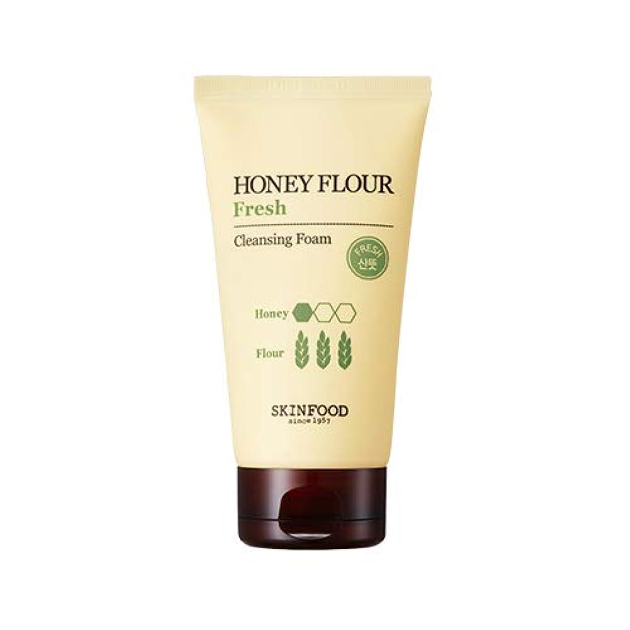 来てご意見ボルトSkinfood/Honey Flour Fresh Cleansing Foam/ハニーフラワーフレッシュクレンジングフォーム/150ml [並行輸入品]