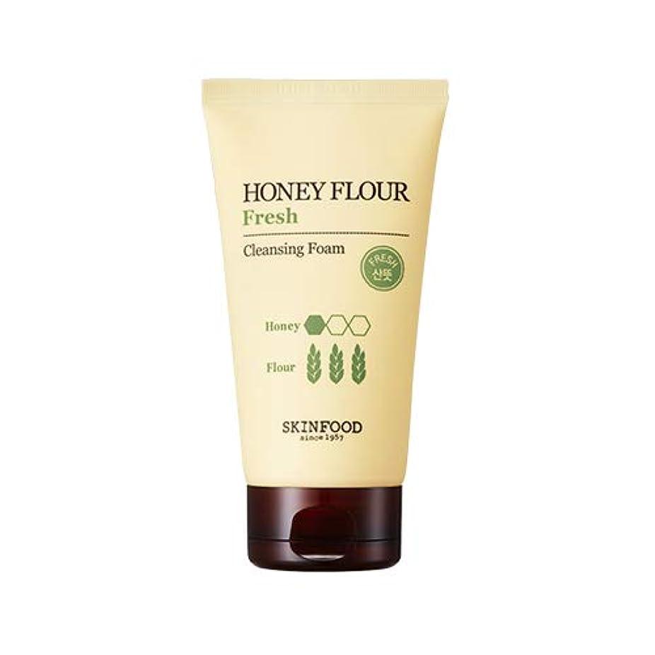 行進バーベキュー嫌いSkinfood/Honey Flour Fresh Cleansing Foam/ハニーフラワーフレッシュクレンジングフォーム/150ml [並行輸入品]