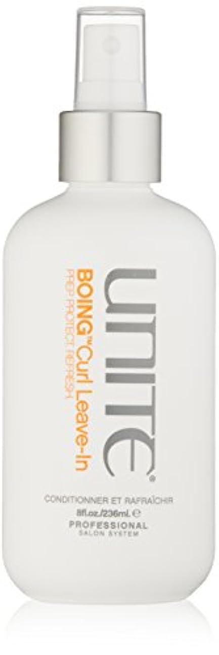 優雅な各以来ユナイト BOING Curl Leave In (Prep. Protect. Refresh) 236ml/8oz並行輸入品