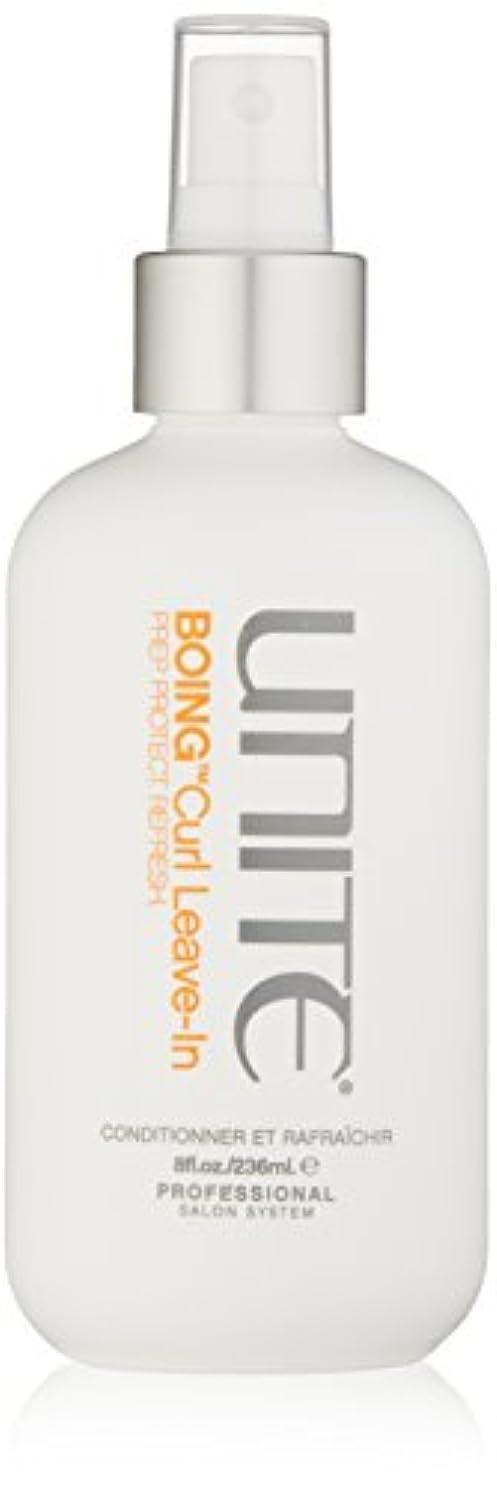 部門成り立つ祝うユナイト BOING Curl Leave In (Prep. Protect. Refresh) 236ml/8oz並行輸入品
