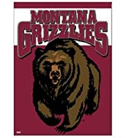 "Montana Grizzliesバナー/垂直フラグ27"" x 37"""