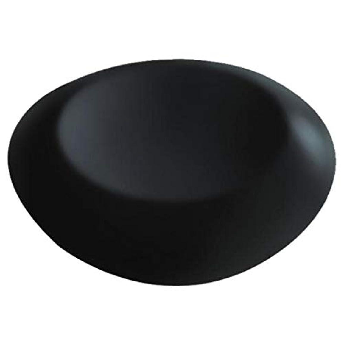 合計注釈を付ける男性滑り止めサクションカップ付きラウンドバスヘッドレストPUバスクッション人間工学に基づいたホームスパヘッドレスト