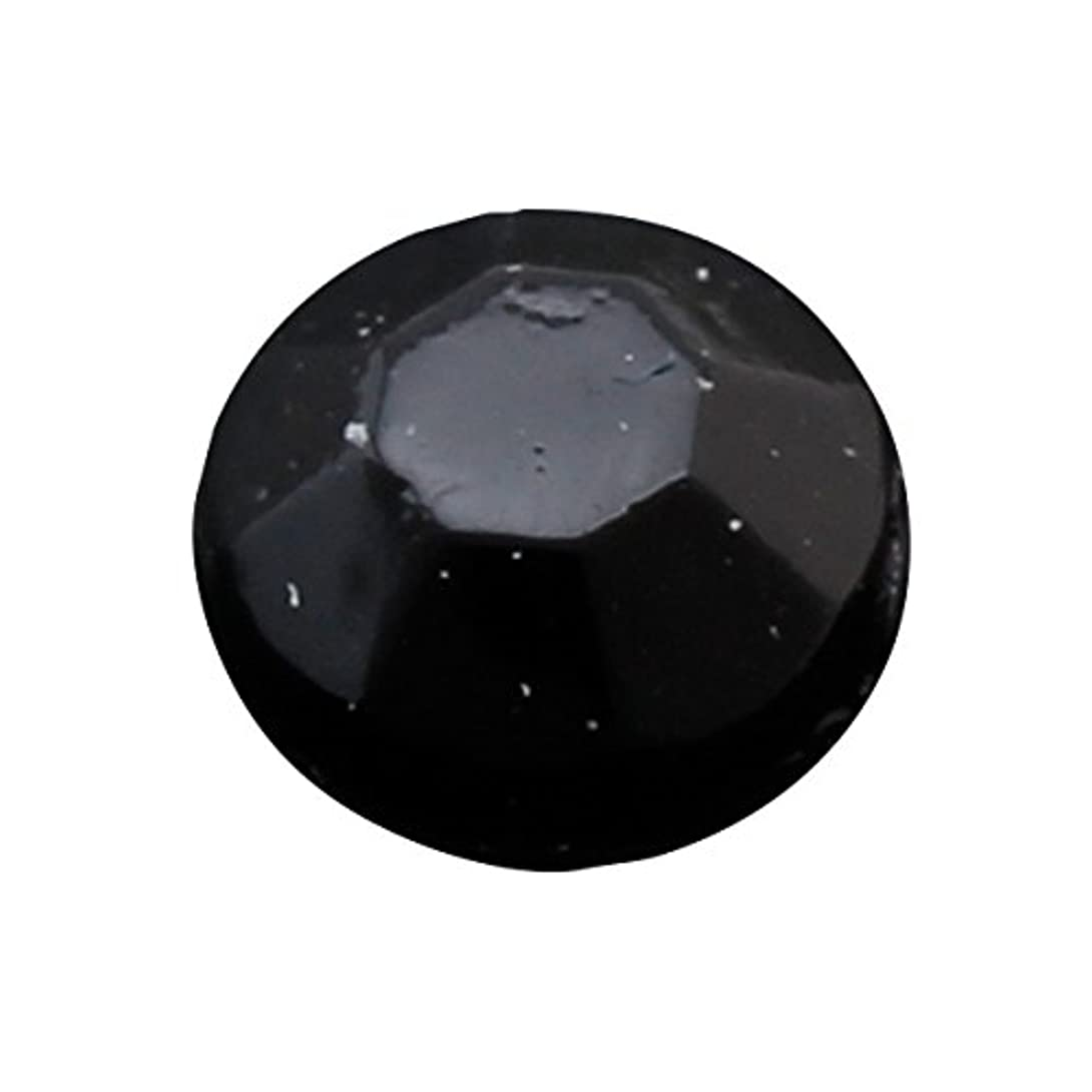 ルー支出混雑アクリルストーンブラック3.0mm(100個)