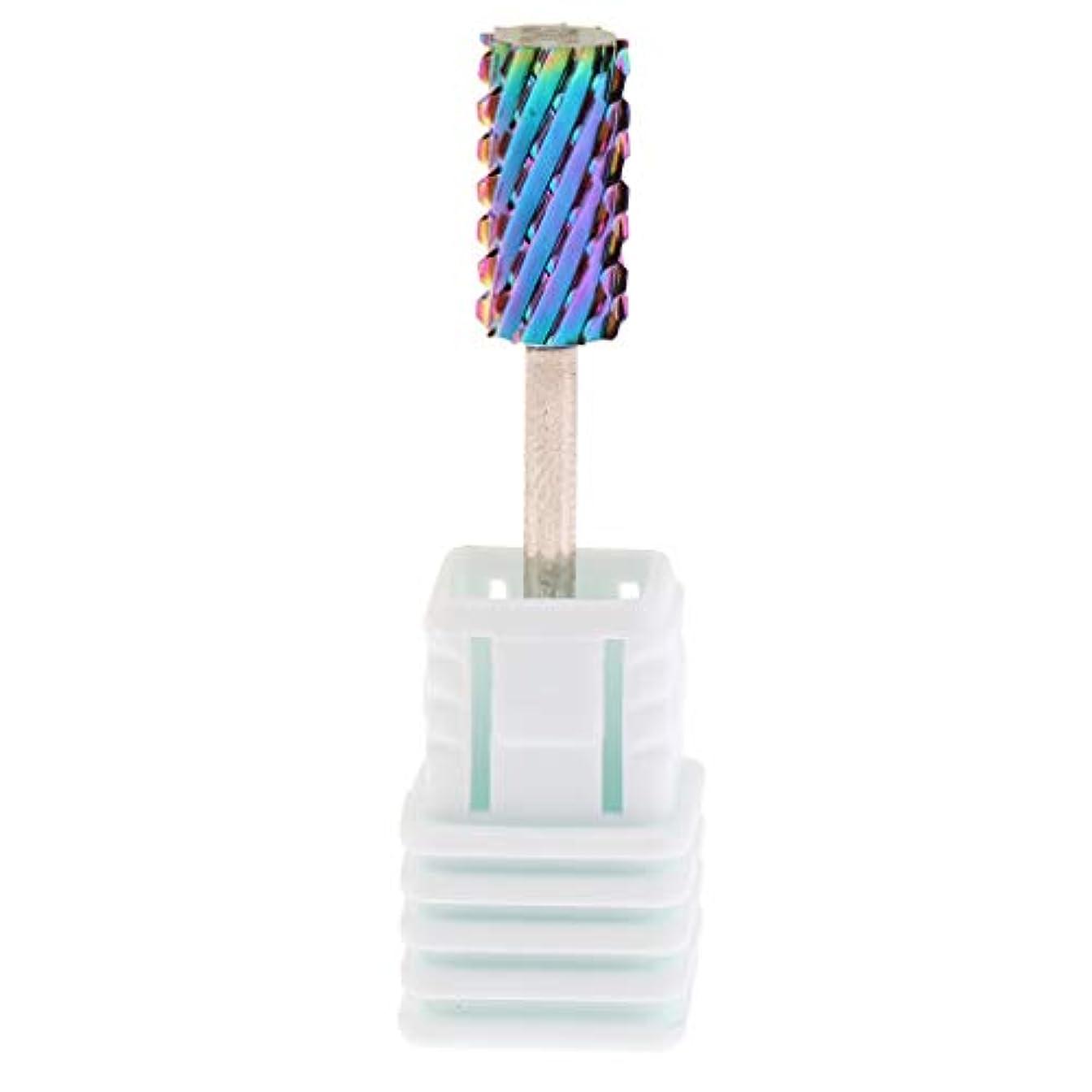 踏みつけ増幅する性的P Prettyia 6サイズ 釘 穴あけ工具 キューティクル 爪やすり 電気ファイルツール - XC