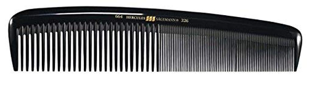 恥ずかしさ弾丸グリットHercules S?gemann Masterpiece Compact Styling Hair Comb with fine teeth 8
