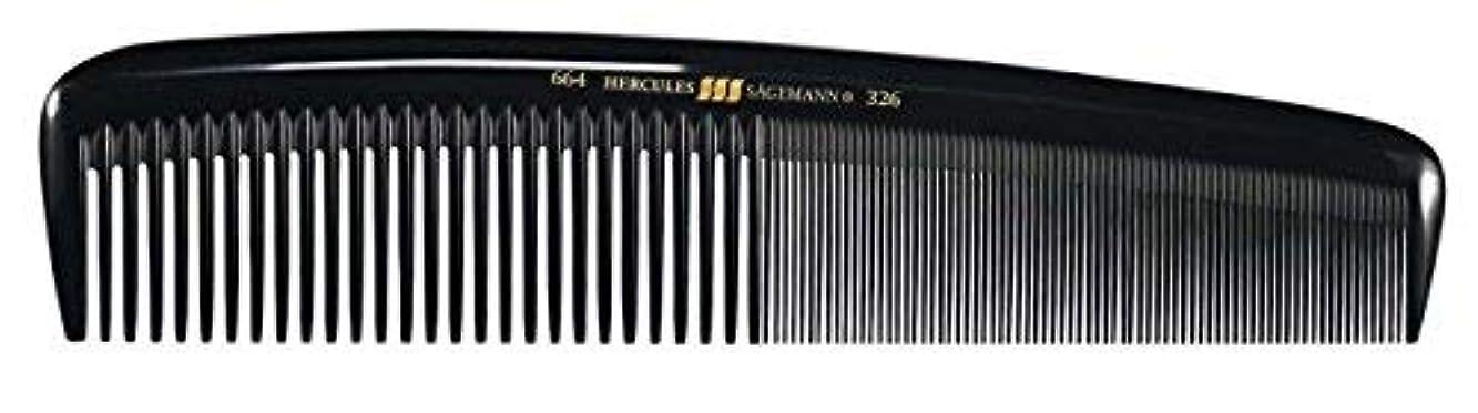 その間粉砕するステレオHercules S?gemann Masterpiece Compact Styling Hair Comb with fine teeth 8