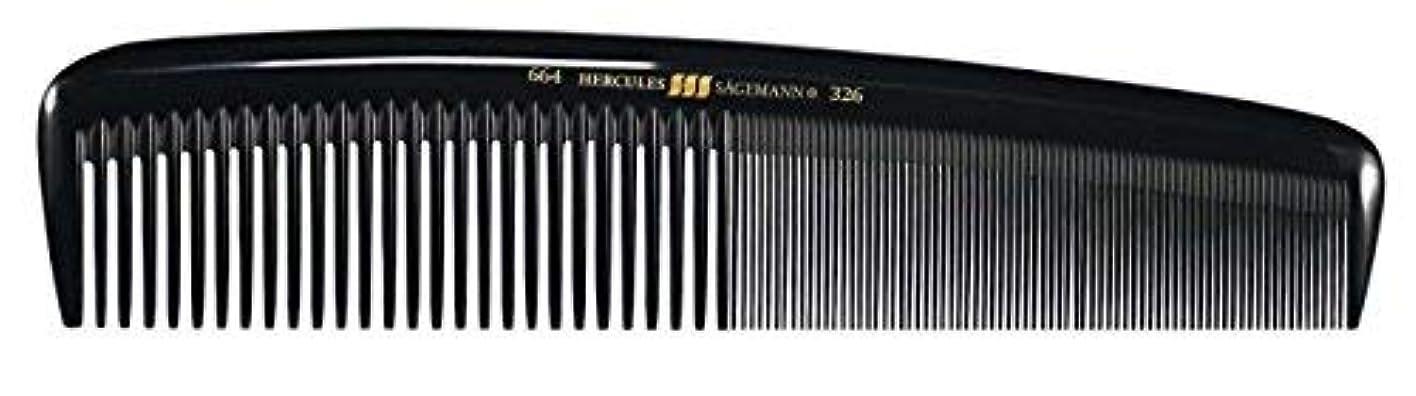 真似る厚くする怠なHercules S?gemann Masterpiece Compact Styling Hair Comb with fine teeth 8