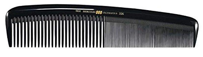 暗黙危険を冒します崖Hercules S?gemann Masterpiece Compact Styling Hair Comb with fine teeth 8