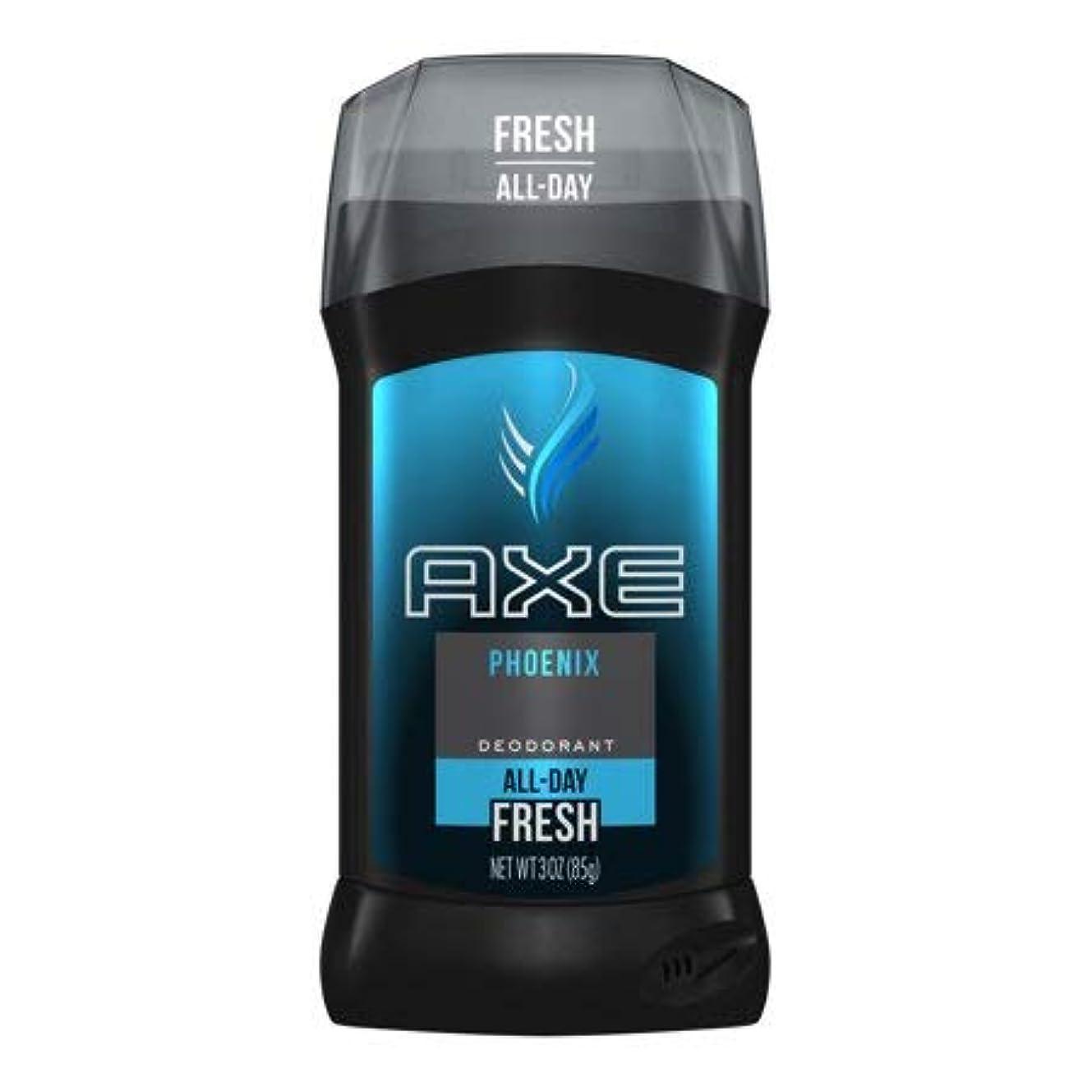 オピエート委員会抽象化AXE Phoenix Deodorant Stick Fresh 3 oz アクセ フェニックス フレッシュ デオドラント 海外直送品 [並行輸入品]