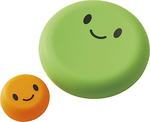 コジット ベジシャキ ダイちゃんキャロちゃん グリーン&オレンジ 大小2個 野菜保存カバー