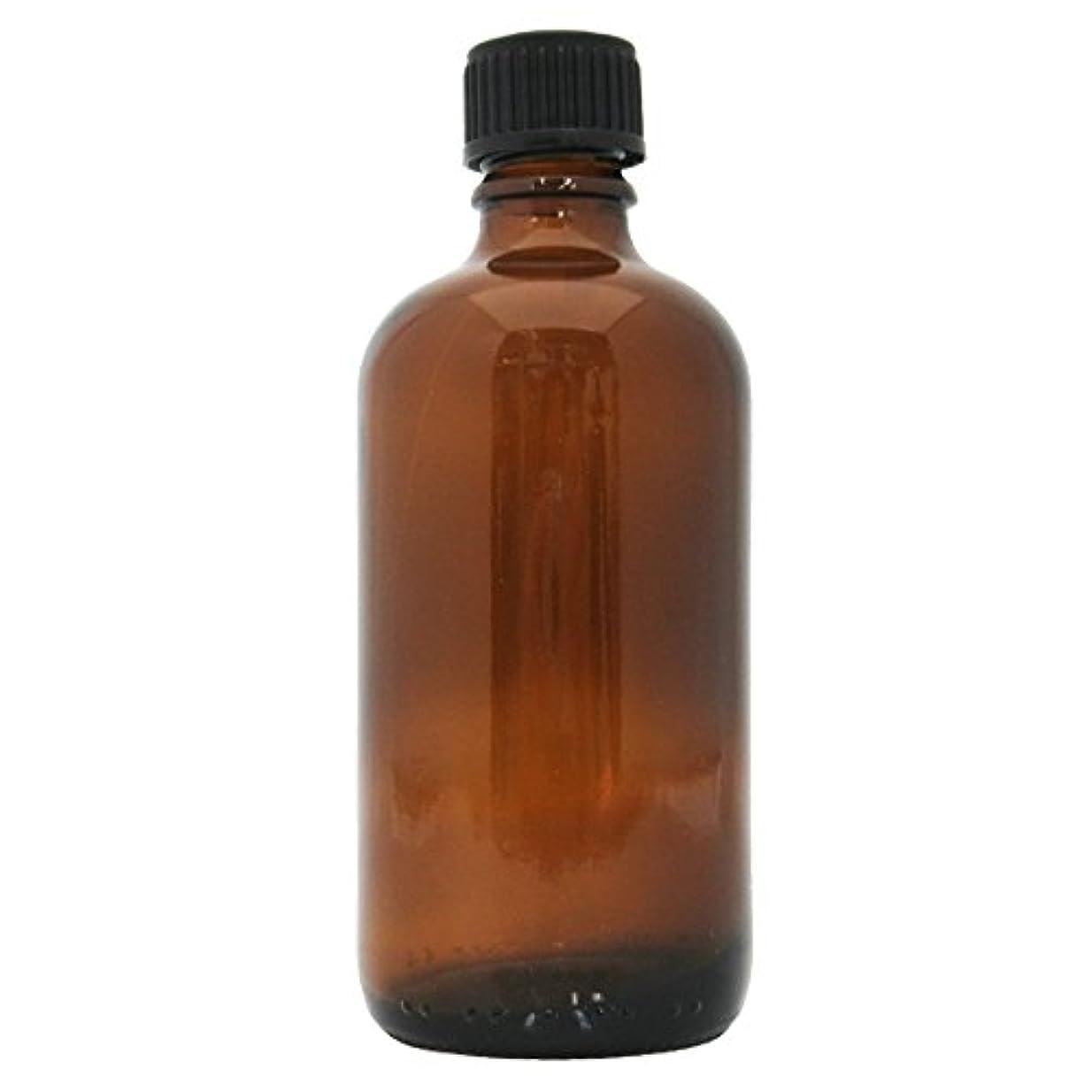 茶色遮光瓶 100ml (ドロッパー付)