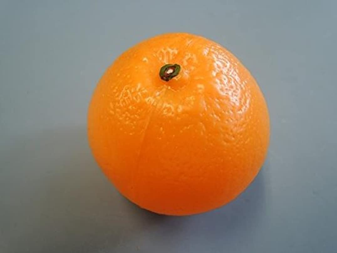 バンほこり必須日本職人が作る 食品サンプル オレンジ IP-350