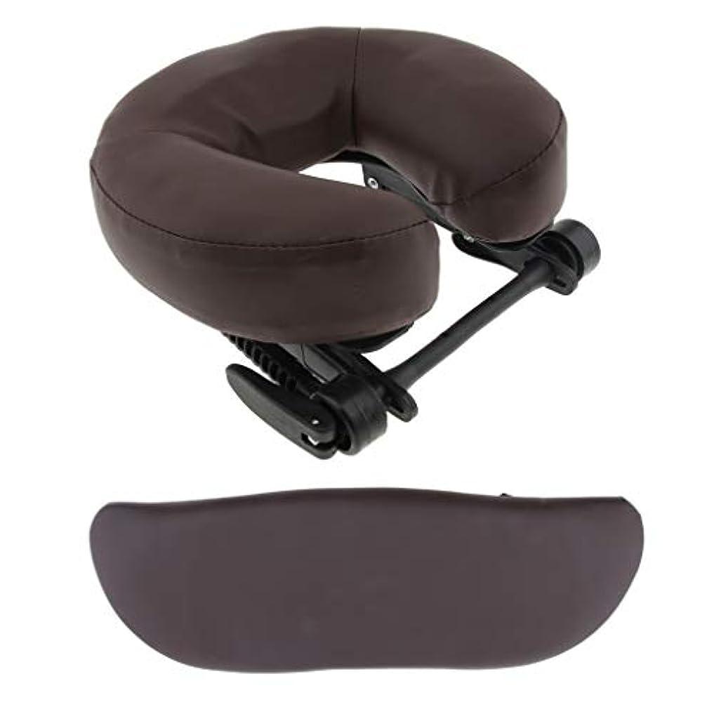 分配しますに慣れ人形マッサージベッド用 クッション サポートピロー 枕 サロン 3色選べ - 褐色