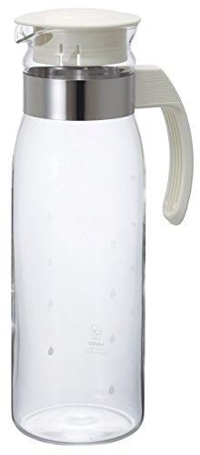 HARIO (ハリオ) 冷蔵庫 ポット スリム N 1,400ml オフホワイト RPLN-14-OW