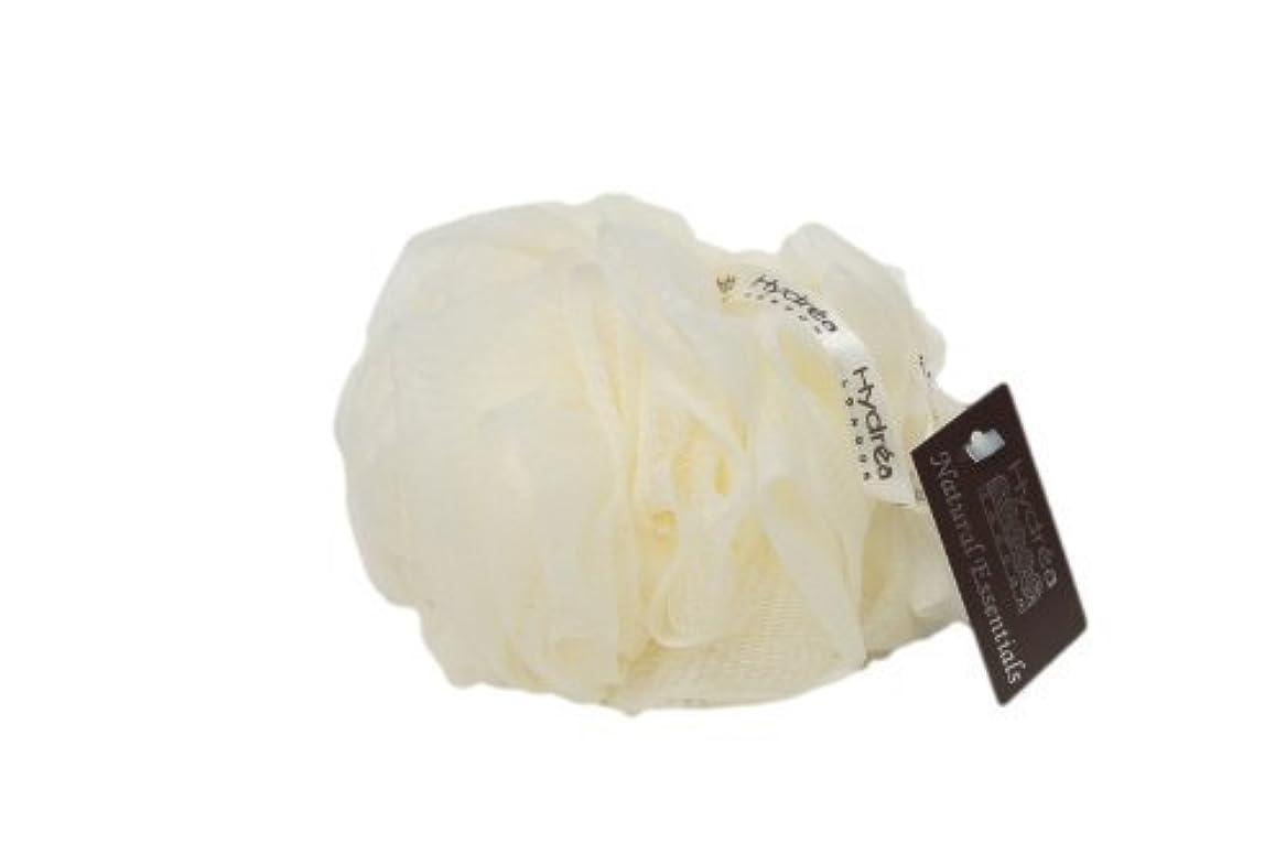 させる予知素人Hydrea London Exfoliating Cream Bath Buffer Shower Puff