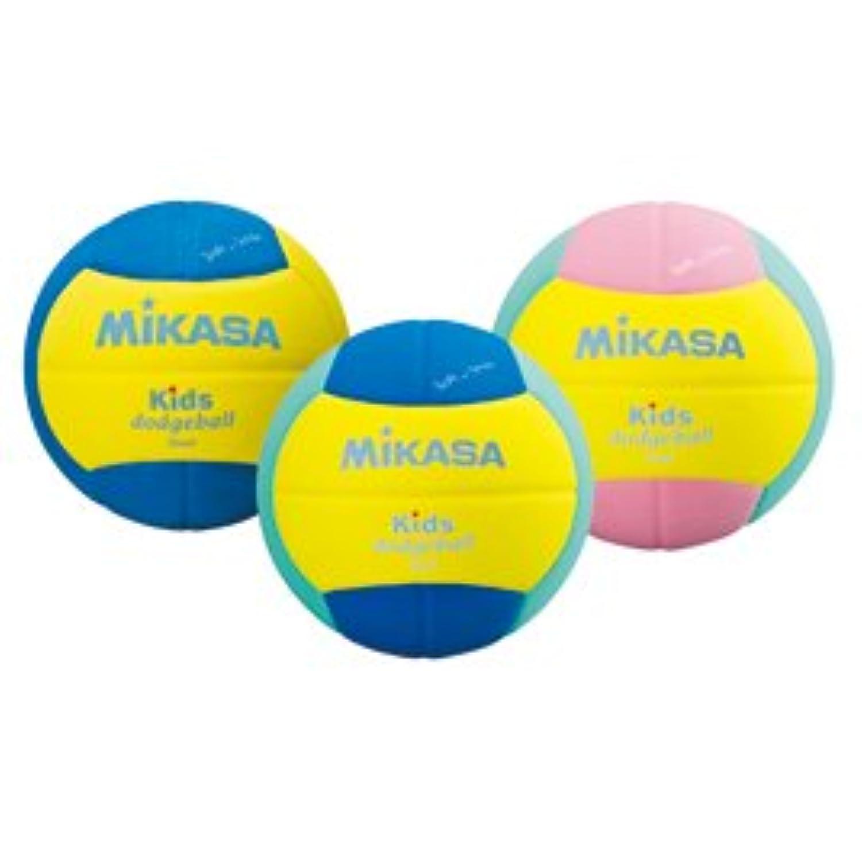 (株)ミカサ キッズドッジボール2号 黄×ライトグリー
