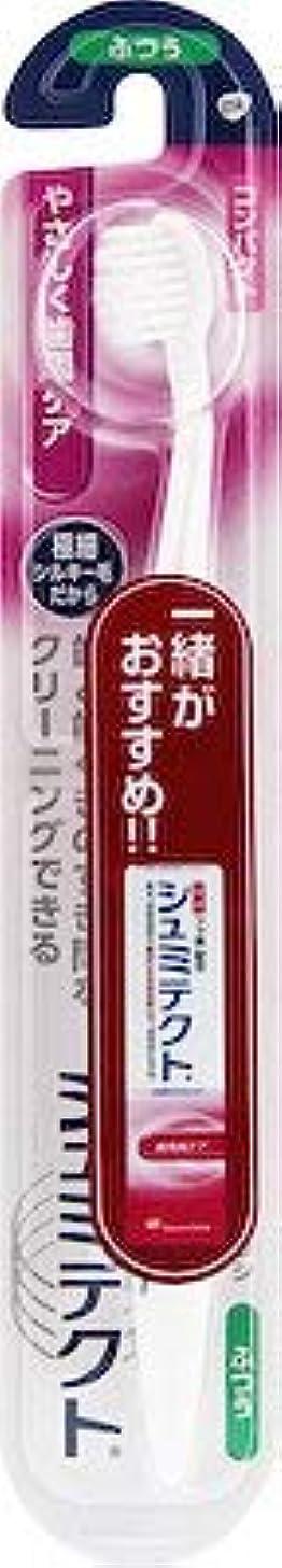 先祖説教普通の【まとめ買い】シュミテクトやさしく歯周ケアハブラシコンパクト1本 ×3個