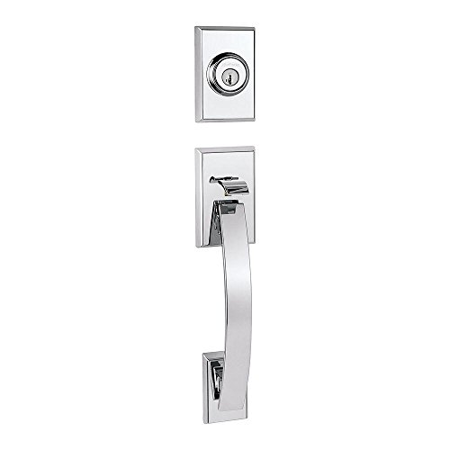 Kwikset 800TVH LIP 26 SMT RCAL RCS Tavaris Single Cylinder Exterior Handleset Trim feat SMT in Polished