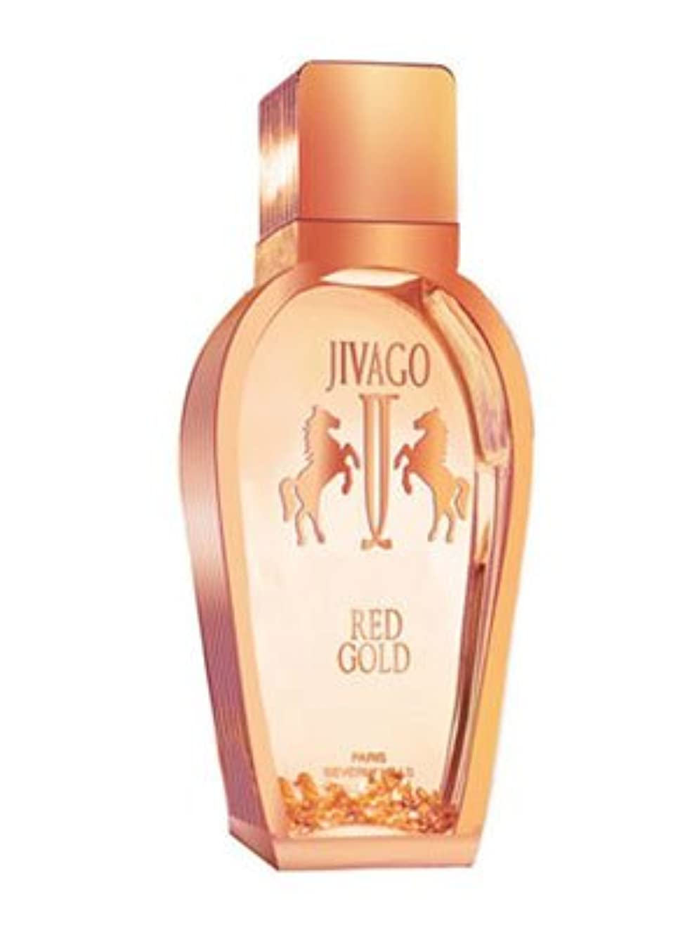 殺します気を散らす争うJivago Red Gold 3.4 oz (100ml) EDP Spray by Jivago for Men