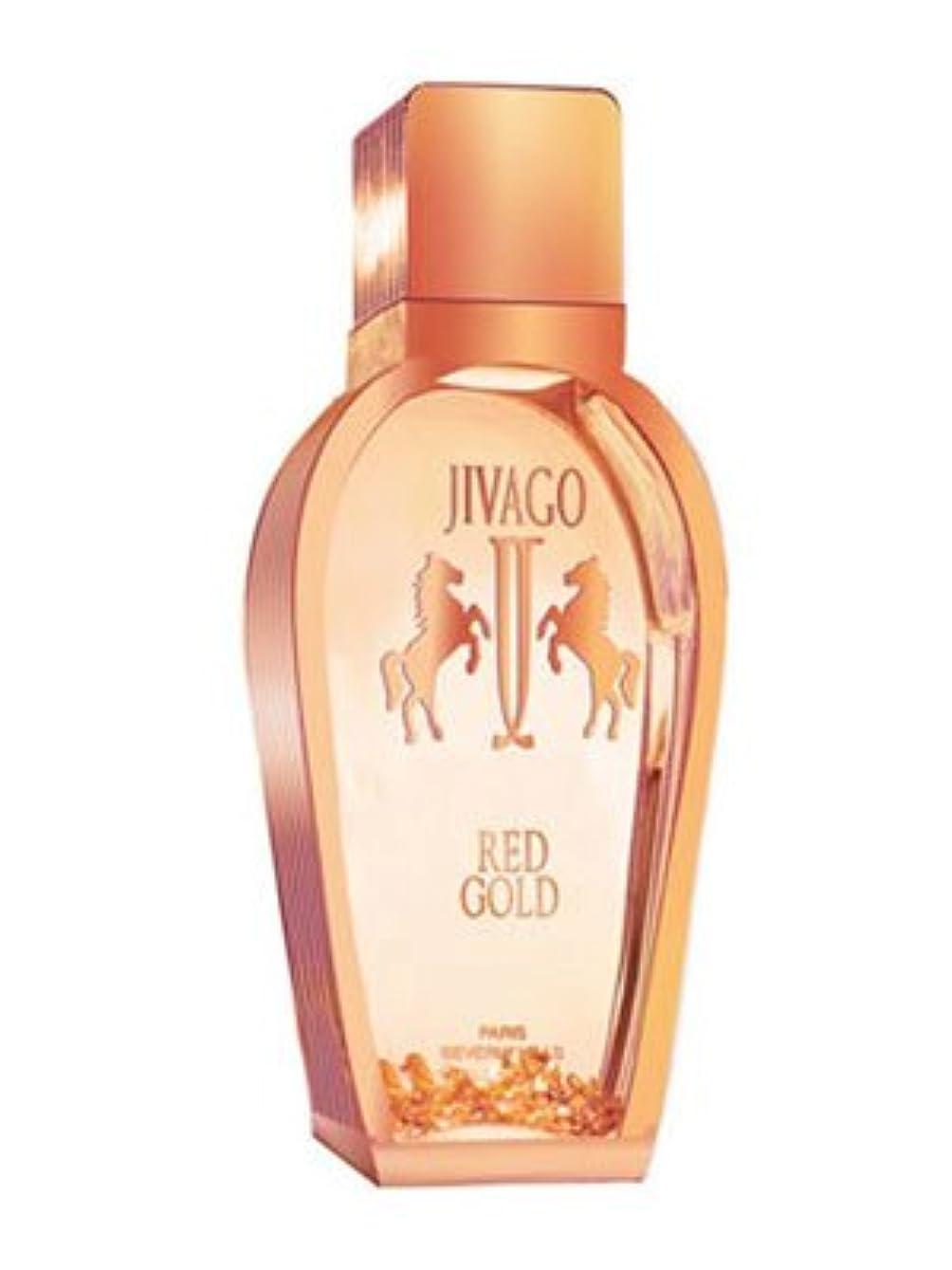 まっすぐドアミラー霧深いJivago Red Gold 3.4 oz (100ml) EDP Spray by Jivago for Men