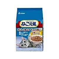 ねこ元気お魚ミックス(2000g)×5【ケース販売】