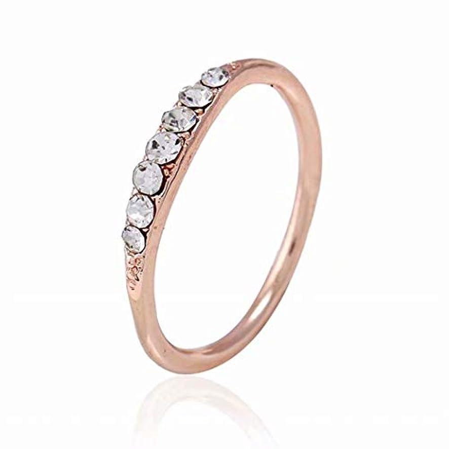 レクリエーションこっそり社会主義七里の香 ダイアモンドの指輪 クリスタルエンゲージリング 結婚指輪