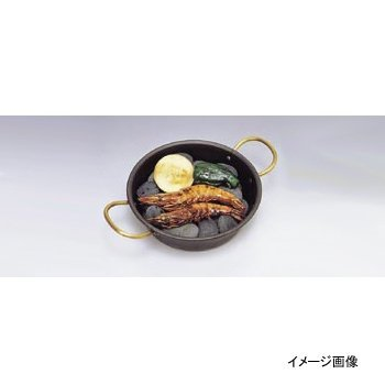 海石鍋 両手 (石無し) 鉄製 15cm
