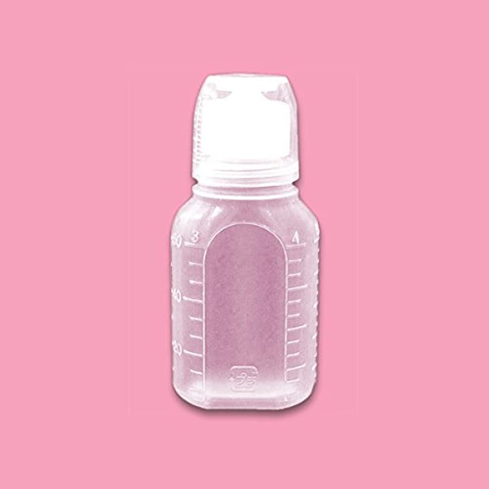 エーカー代表団借りる液体用空ボトル 60g 5個入 [ 空ボトル 空容器 詰め替え用 うがい薬 ローションボトル サンプル用 ]◆