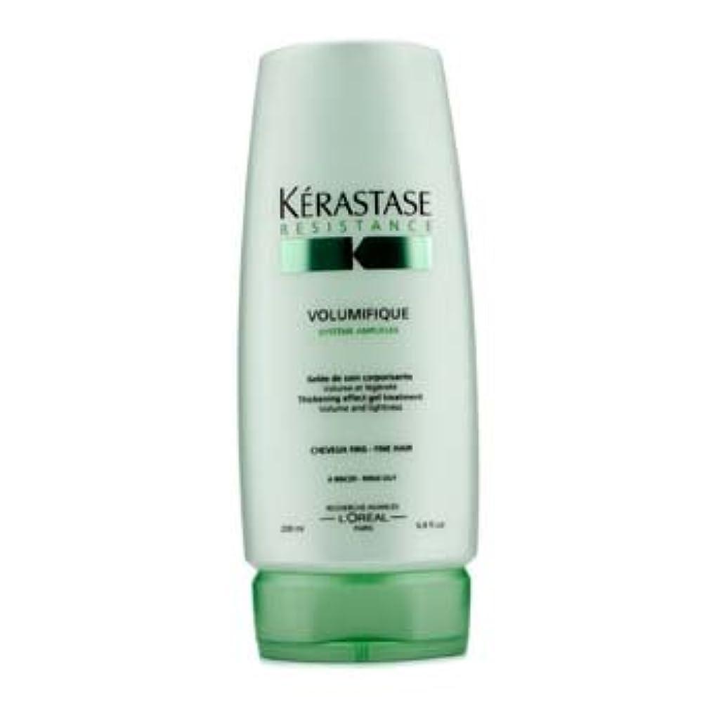 肘封建発音ケラスターゼ Resistance Volumifique Thickening Effect Gel Treatment (For Fine Hair) 200ml/6.8oz並行輸入品