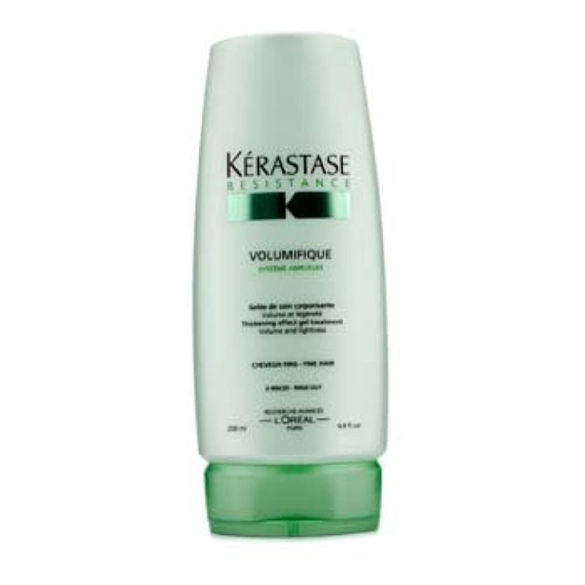 聴覚呼び起こす該当するケラスターゼ Resistance Volumifique Thickening Effect Gel Treatment (For Fine Hair) 200ml/6.8oz並行輸入品