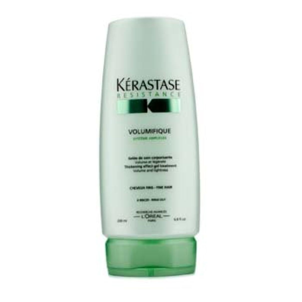 にじみ出る人質自然ケラスターゼ Resistance Volumifique Thickening Effect Gel Treatment (For Fine Hair) 200ml/6.8oz並行輸入品