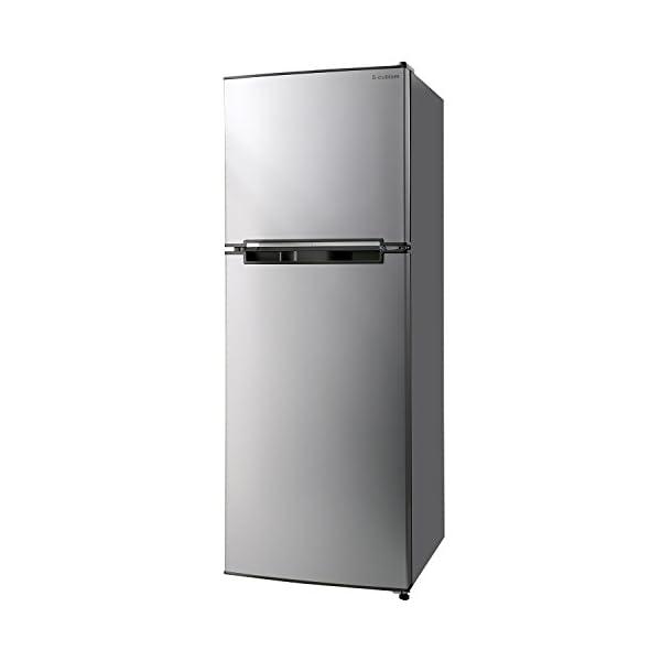 エスキュービズム 2ドア冷蔵庫 WR-2138S...の商品画像