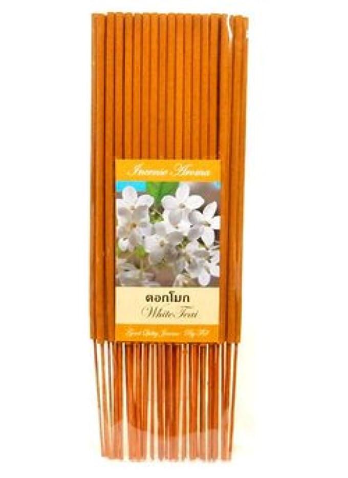 タイのお香 スティックタイプ [WHITE TEAI] インセンスアロマ 約50本入りアジアン雑貨