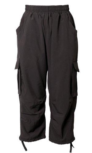 パネットワンpane(t)one パンツ ラク軽GYMパンツ レディース カーゴパンツ ブラック M~L