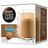 ネスレ日本 ネスカフェ ドルチェ グスト 専用カプセル カフェオレ カフェインレス 16個(16杯分)×3箱入×(2ケース)