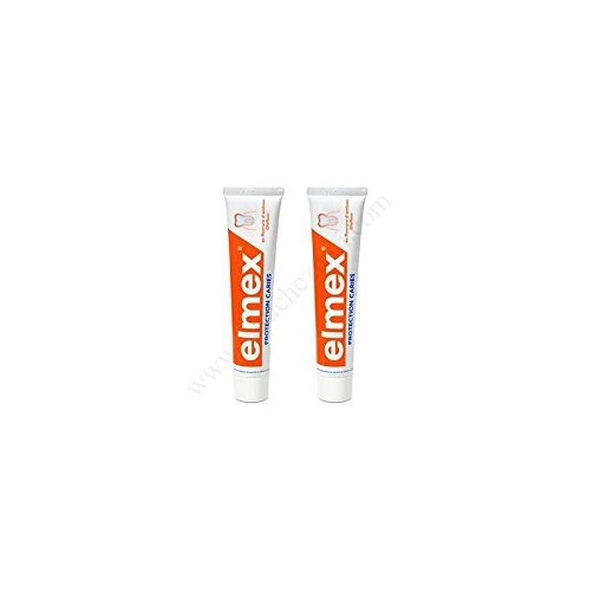 キュービック一掃するクローンElmex Decays Prevention Toothpaste 2x75ml by Elmex [並行輸入品]