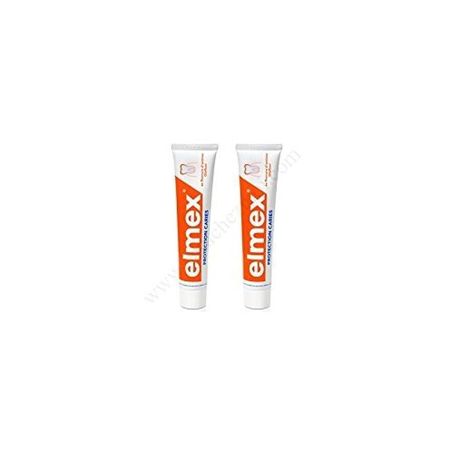 便益眠っているニュージーランドElmex Decays Prevention Toothpaste 2x75ml by Elmex [並行輸入品]