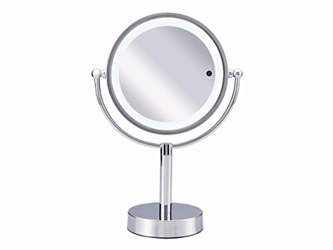 事務所心理的に振動するコイズミ 拡大鏡 シルバー KBE-3090/S