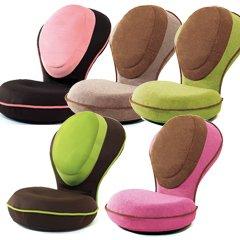 背筋がGUUUN美姿勢座椅子リッチ カバーセット ピスタチオグリーン